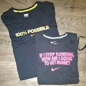 Nike 100% tee